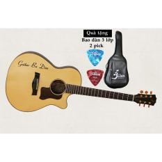 Đàn Guitar Acoustic Ba Đờn Taylor 400 (Sơn PU Bóng) + Bao đàn cao cấp 3 lớp