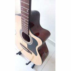 Đàn guitar Acoustic DJ100 (màu gỗ)+Tặng bao da