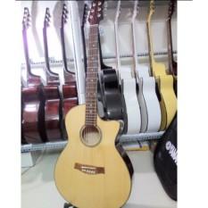 Đàn guitar Acoustic DVE70JT (màu gỗ) + Bao da, phụ kiện