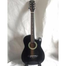 Đàn guitar acoustic JG-38EQ đen (có EQ)