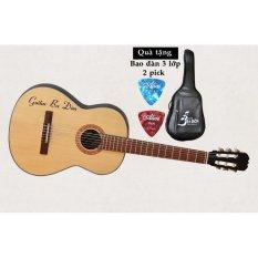 Đàn Guitar Classic Ba Đờn C-100 ( màu gỗ) Tặng bao đàn cao cấp 3 lớp