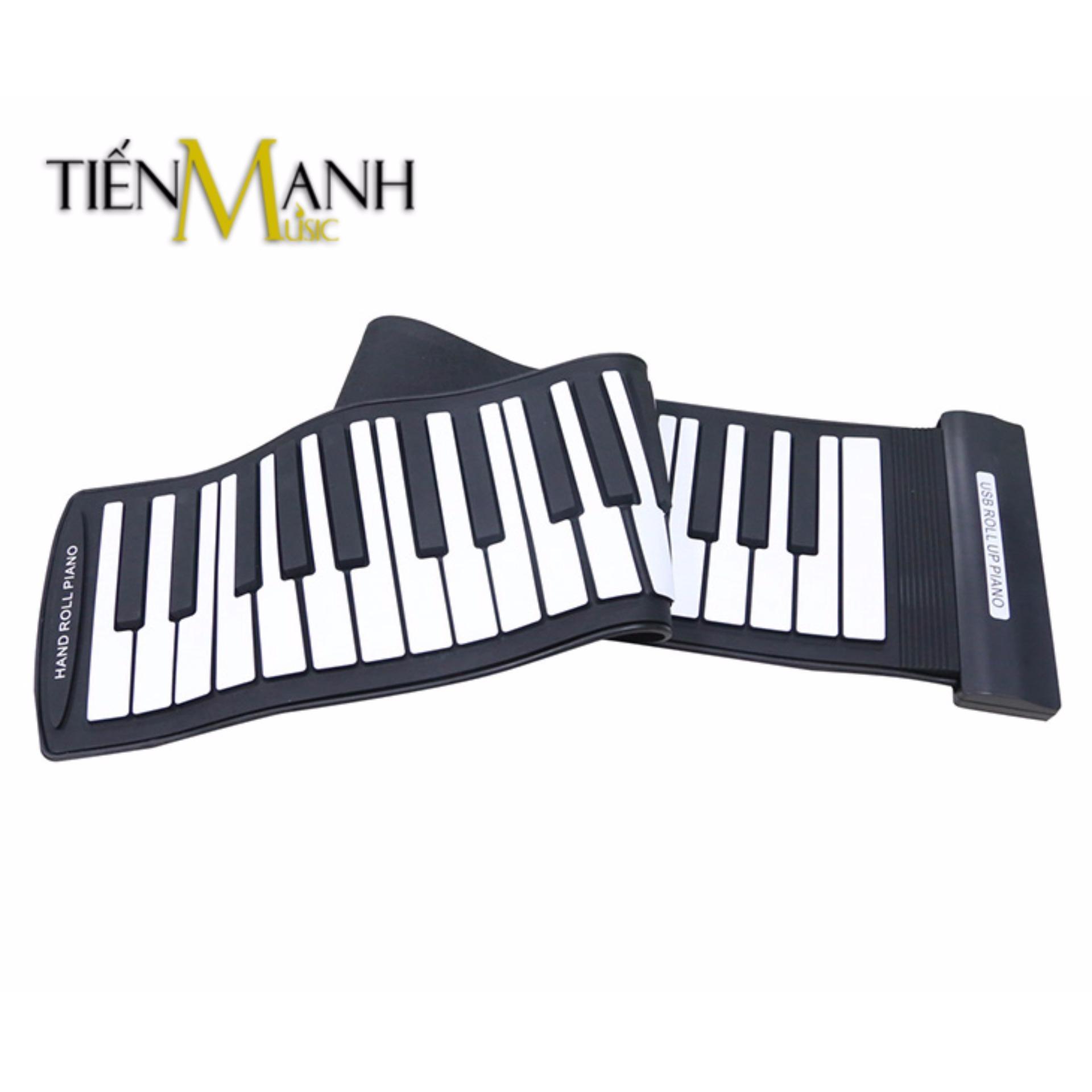 Đàn Piano Konix 61 phím cuộn mềm dẻo Flexible MD61S (Roll Up Piano hỗ trợ kết nối máy tính – Có cáp kết nối USB – Midi Keyboard Controller)