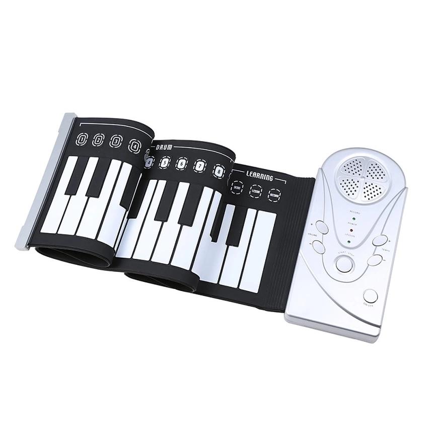 Đàn piano điện tử bàn phím cuộn dẻo 49 keys