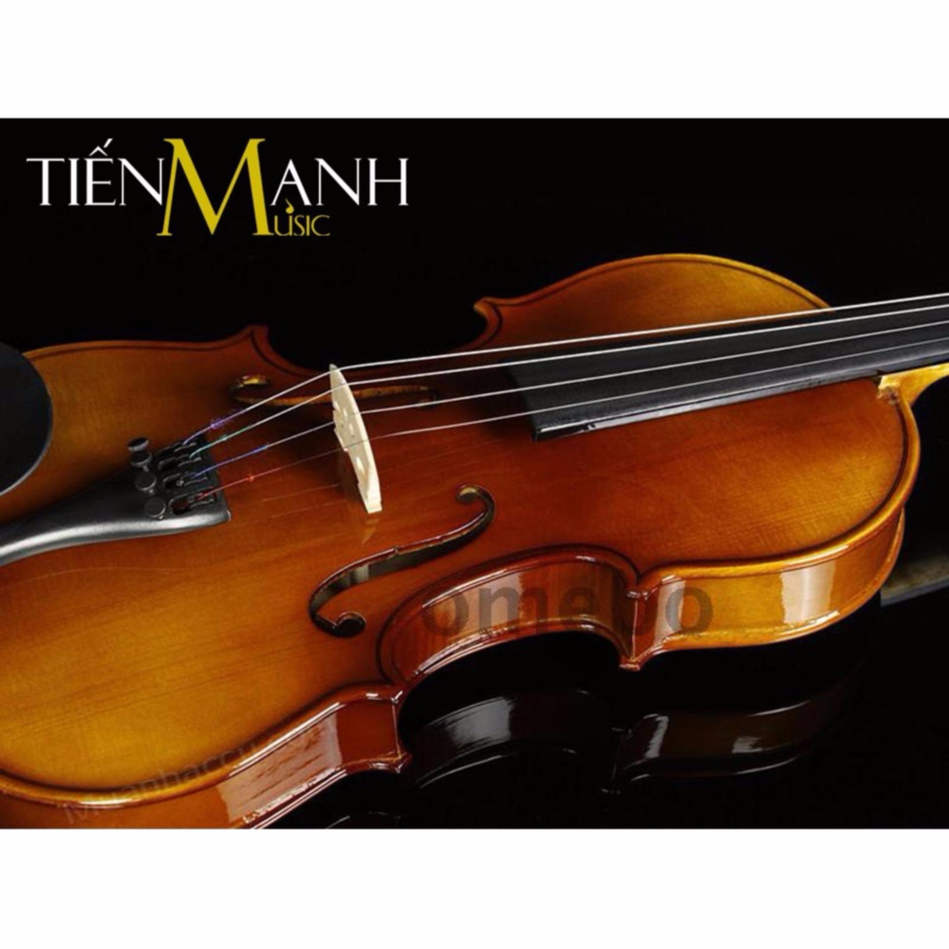 Đàn Violin Omebo Size 4/4 RV-205 (Gỗ Nguyên Tấm Vân Sam RV205 - Vĩ Cầm 4-4 - Cả bộ Đàn...