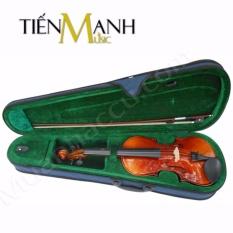 Đàn Violin Omebo Size 4/4 RV-205 (Vĩ Cầm Gỗ Nguyên Tấm – Cả bộ Vi-ô-lông, Hộp, Vĩ và Rosin)
