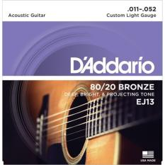 Dây đàn Guitar Acoustic D'Addario EJ13 – HappyLive Shop