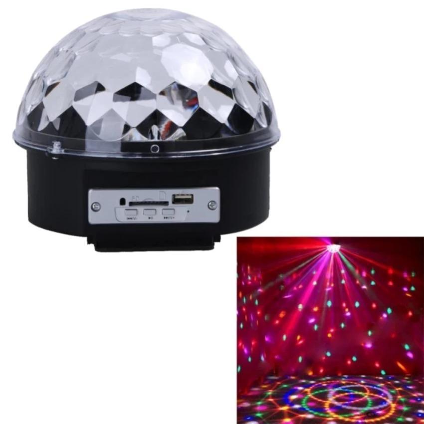 ĐÈN CẦU XOAY MINI LED Crystal Ball
