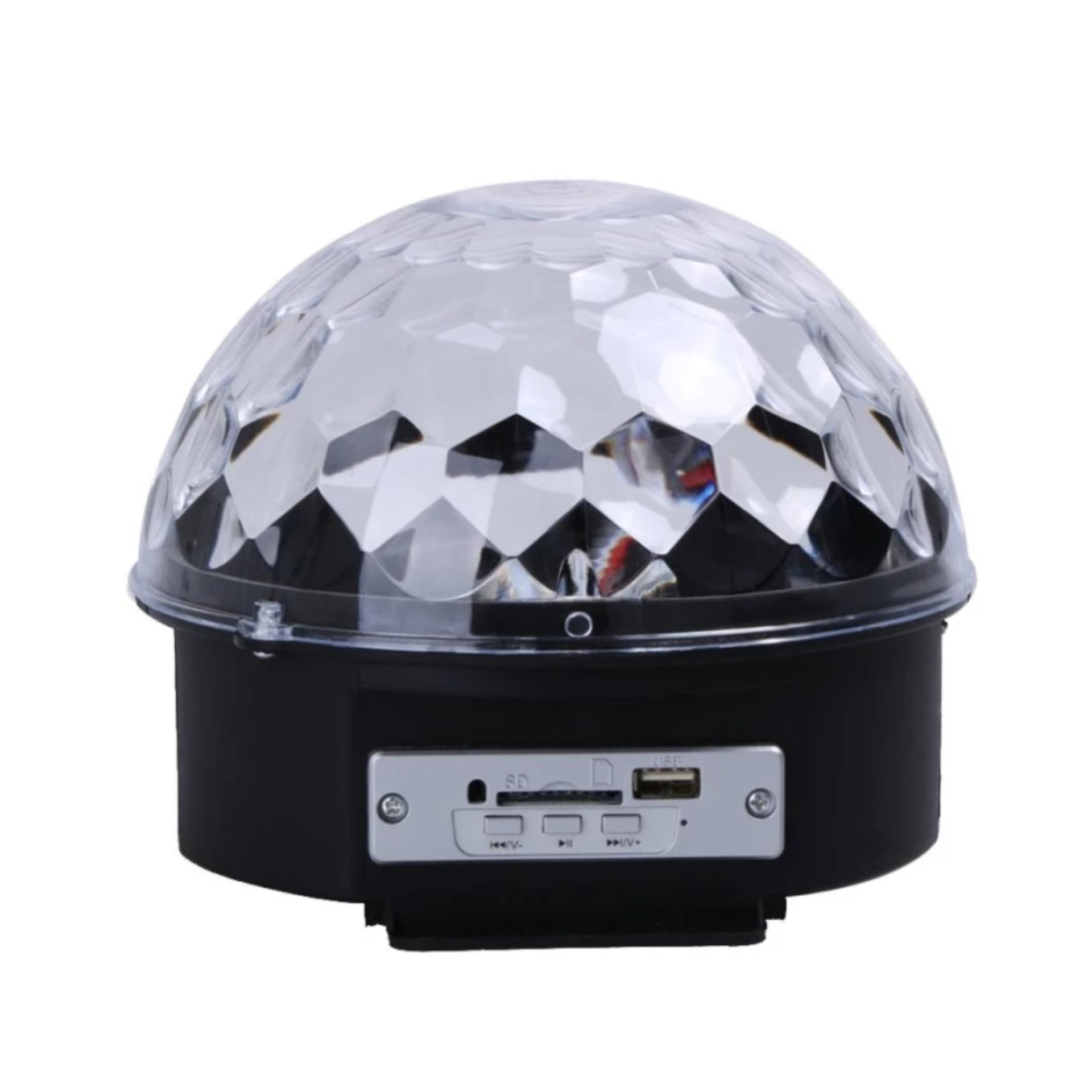 Giá bán Đèn LED trang trí xoay nhiều màu sắc có cảm biến âm thanh MB6