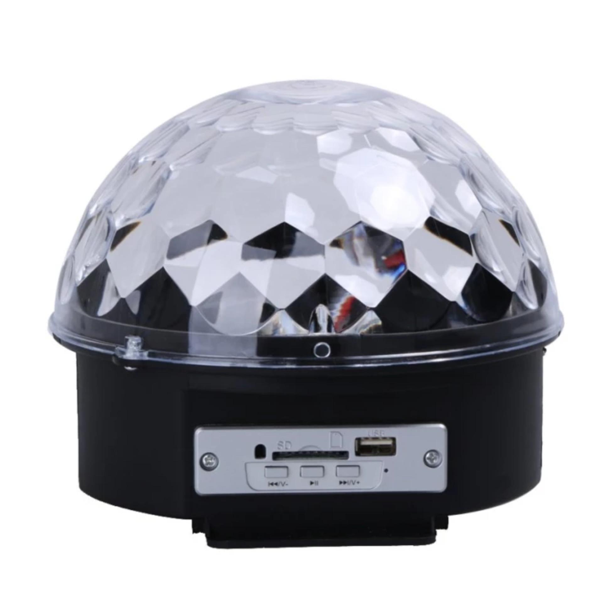 Giá Sốc Đèn quả cầu xoay nhiều màu cảm biến nhạc MB9