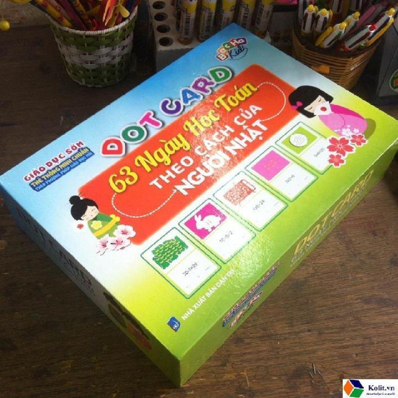 Mua Dot card 63 ngày học toán theo cách của người Nhật