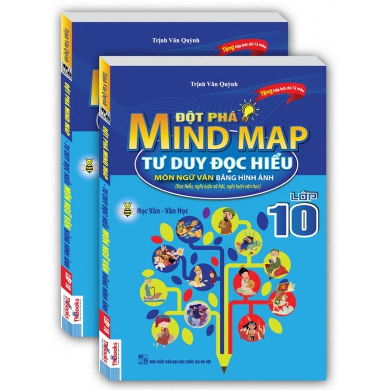 Mua Đột phá Mind map tư duy đọc hiểu môn ngữ văn bằng hình ảnh lớp 10.