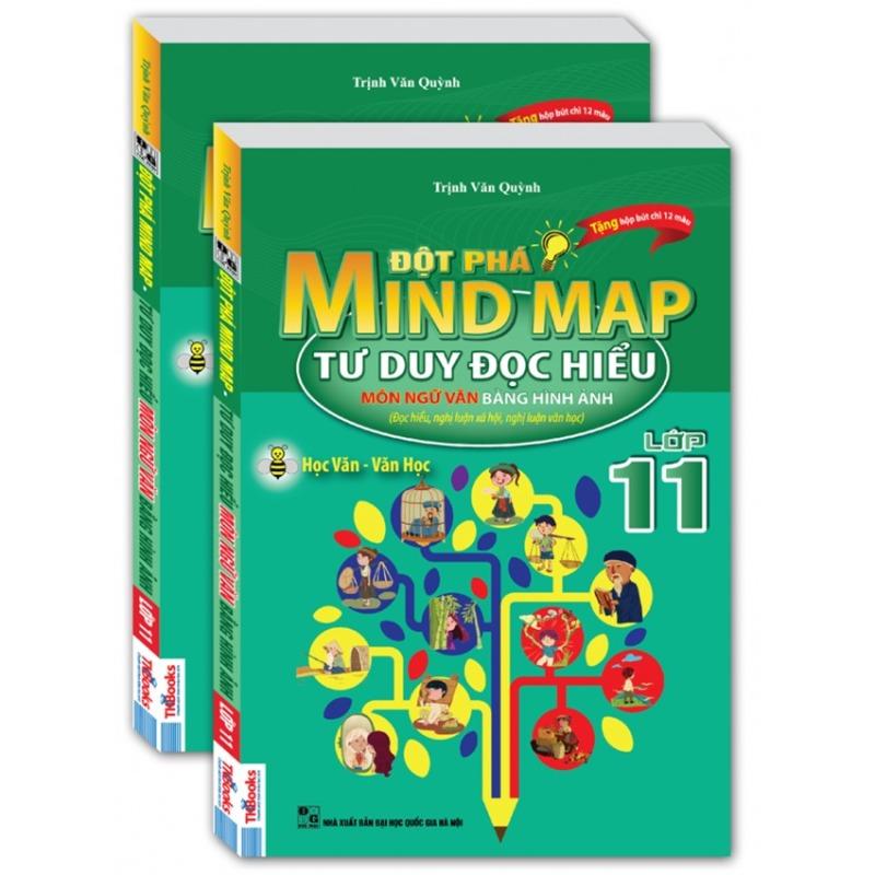 Mua Đột phá mind map-Tư duy đọc hiểu môn ngữ văn bằng hình ảnh lớp 11.