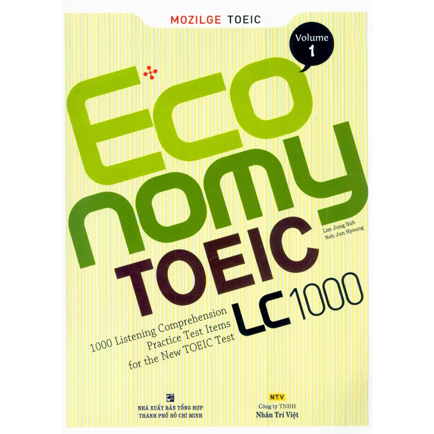 Economy TOEIC: LC 1000 vol 1 (kèm CD)