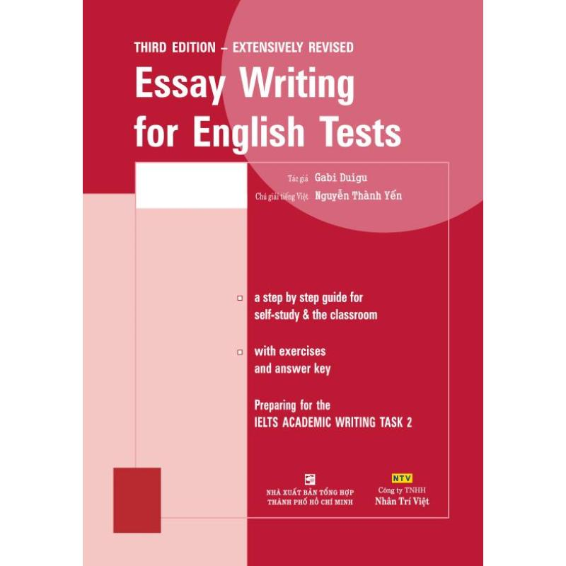 Mua Essay Writing for English Tests