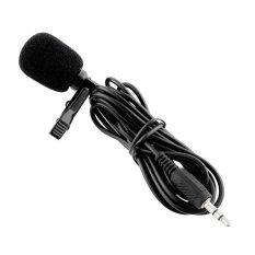 External Clip-on Lapel Tie Mini Lavalier Microphone For iPhone PC Laptop – intl