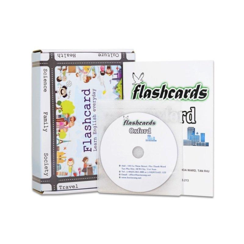 Mua Flashcard 3000 từ thông dụng của OXFORD chất lượng cao kèm dvd và sách hướng dẫn (07dC)