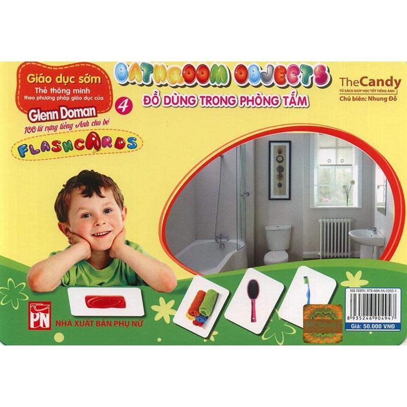 Mua Flashcard Bathroom Objects - Đồ dùng trong phòng tắm