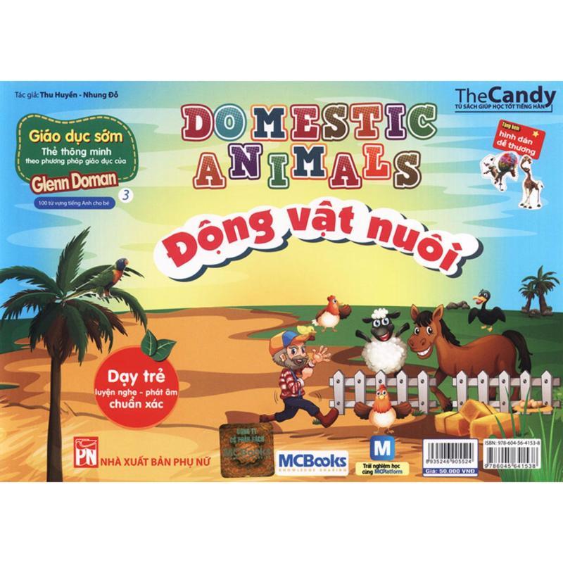 Mua Flashcard Domestic Animals - Động vật nuôi