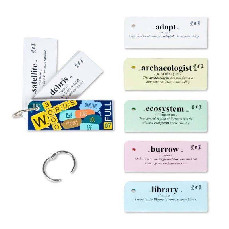 Mua Flashcard Oxford 3000 từ Tiếng Anh thông dụng nhất của Oxford(mã 07A)