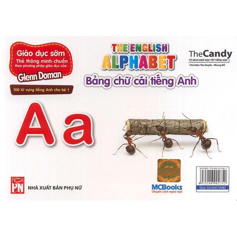 Mua Flashcard The English Alphabet - Bảng chữ cái tiếng Anh