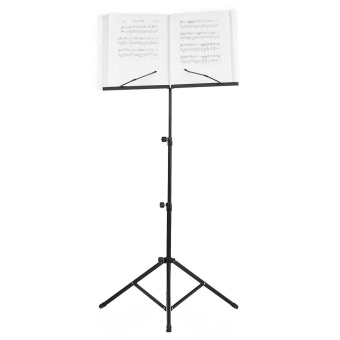 Foldable Sheet Music Tripod Stand Holder Lightweight with Water-resistant Carry Bag for Violin Piano...