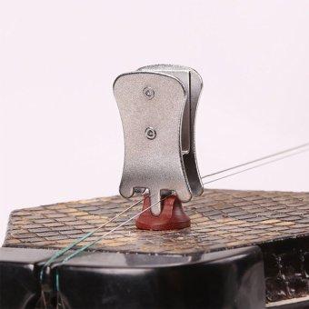 Gracefulvara 2m² Erhu Silencer Erhu Accessories Musical InstrumentsSilencer Musical Instruments Accessories - Silver - intl