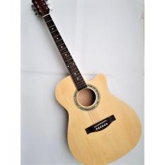 Acoustic guitar DVE70D màu gỗ + Tặng bao da, phụ kiện