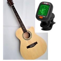 Guitar Acoustic KBD 9A29 + Tuner