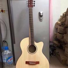 Guitar Acoustic S75. Có ty chỉnh cần