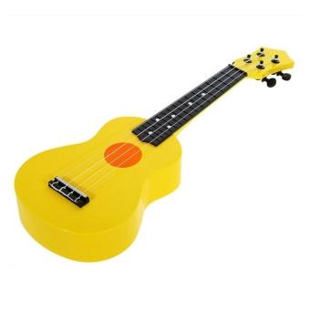 HLY 21-Inch High-Grade Teaching Guitar Ukulele Toys For Kid Childrengift (Yellow) - intl
