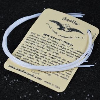 HLY 5 Sets High Quality Ukelele Strings White Nylon Hawaii Guitarstring Soprano Concert Tenor Ukulele Accessories - intl