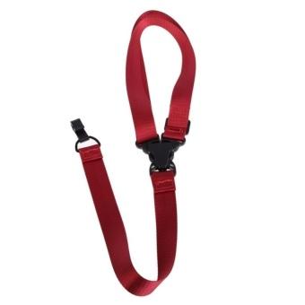 HLY Adjustable Ukulele Strap With Hook For All Size Ukuleles (Red) - intl