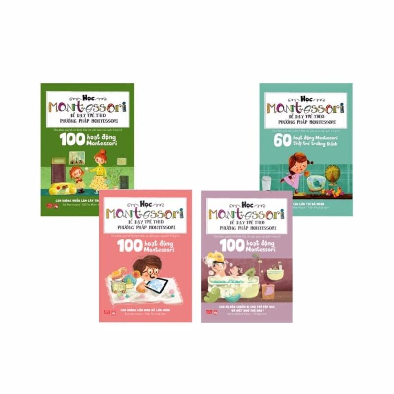 Mua Học montessori để dạy trẻ theo phương pháp montessori (Combo Trọn bộ 4 cuốn) - 299k