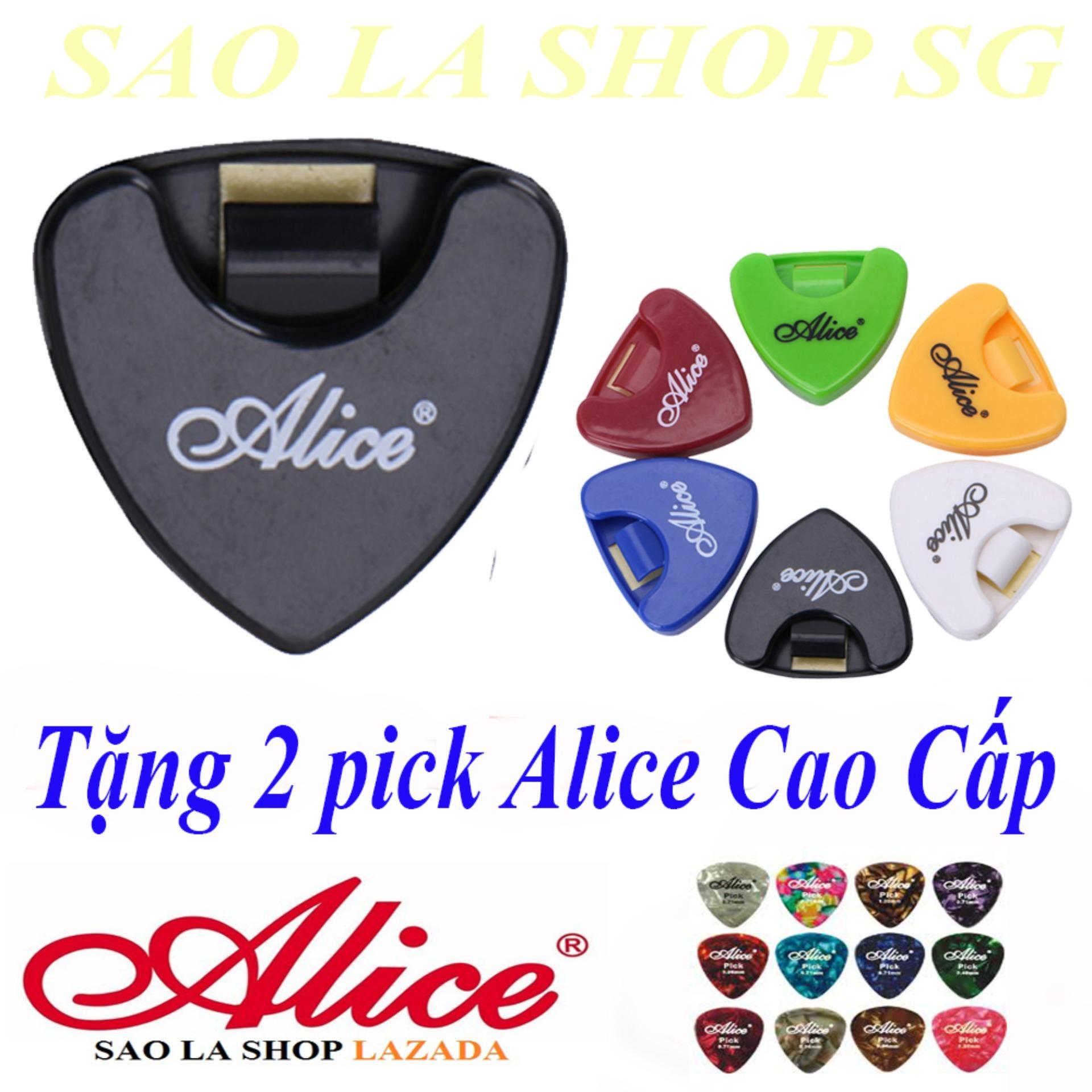 Hộp Đựng Phím Đàn Ghi-ta Alice + 2 Pick Alice Cao Cấp