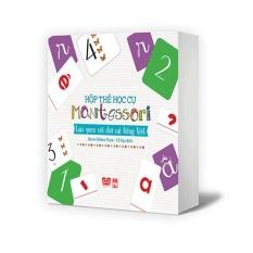 Hộp thẻ học cụ montessori – Làm quen với chữ cái TV, Bước đầu đến với toán học