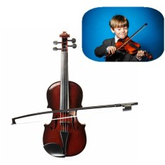 Giá Sốc HOT New 4/4 Full Size Kids High Quality Simulation Toys Violin Demo Educational Musical Instrument Dark Brown – intl