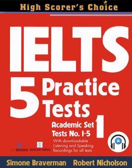 Ebook IELTS 5 Practice Tests - Academic Set 1 PDF