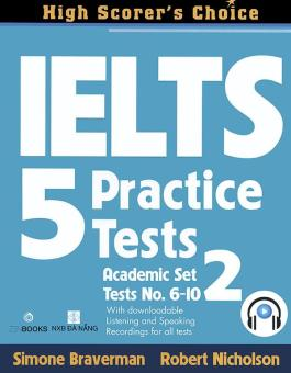 Ebook IELTS 5 Practice Tests - Academic Set 2 PDF