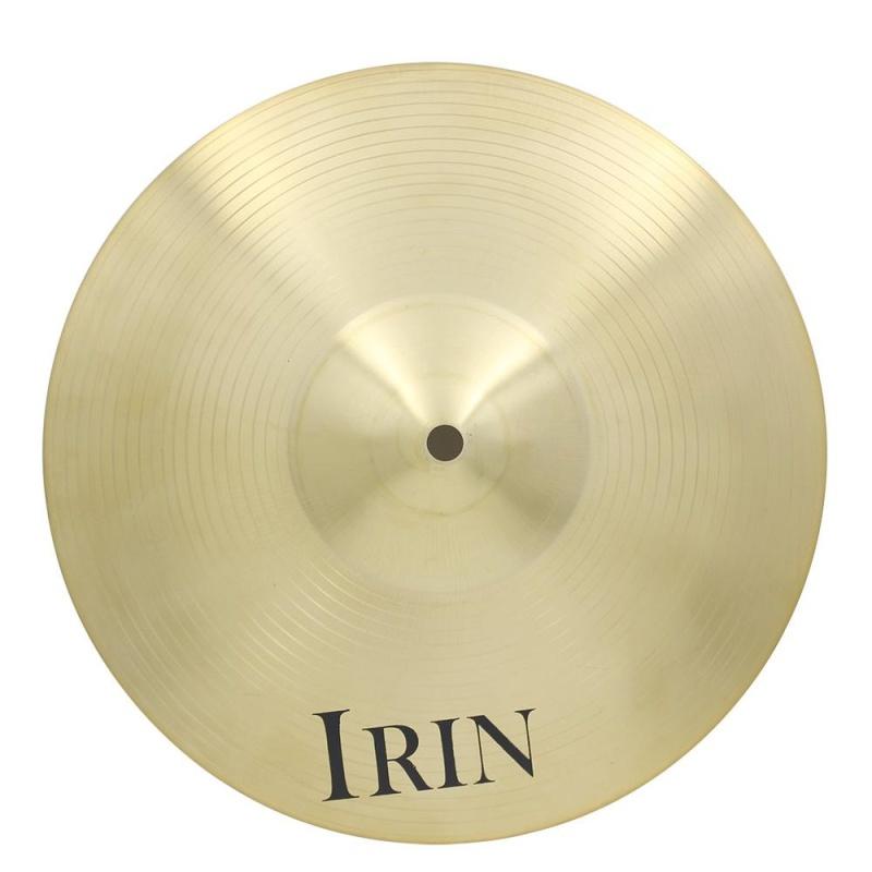 IRIN 14 Inch Brass Alloy Crash Ride Hi-Hat Cymbal for Drum Set - intl