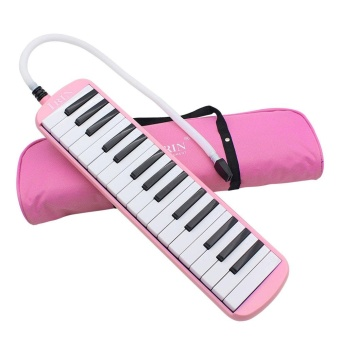 IRIN 32-Key Melodica with Blowpipe & Blow Pipe Pink - intl