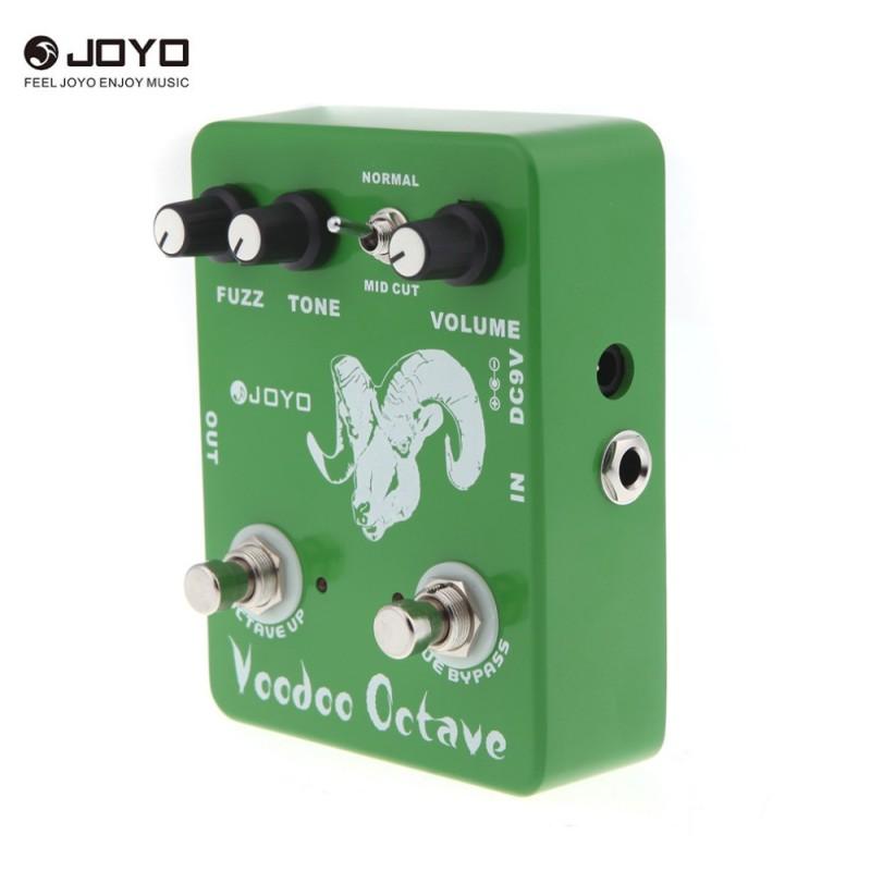JO-YO JF-12 Voodoo Octave Fuzz Effect Guitar Effect Pedal True Bypass - intl