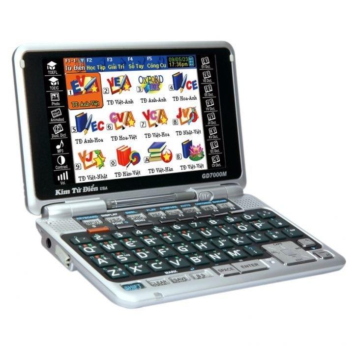 Giá Kim từ điển GD7000M (Đen)