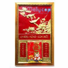 Lịch Tết Melycop – Bộ Lịch Tết Treo Tường Vinh Hoa Phú Quý Bằng Đồng Vàng Đẹp và Sang Trọng