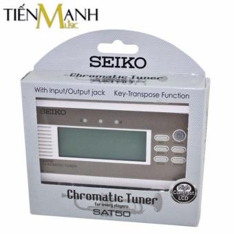 Máy lên dây Seiko SAT50 Gold - Chromatic Tuner