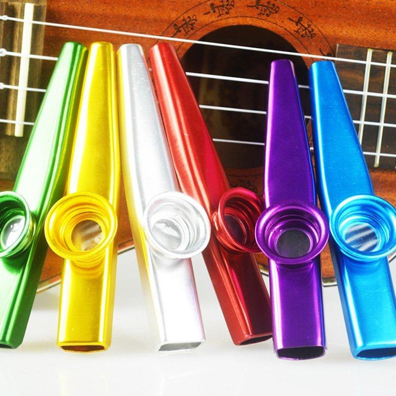 Metal kazoo Flute guitar companion for gift Silver - intl