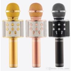 Micro hát karaoke Bluetooth 3in1 kèm loa WS-858 – DCWS858