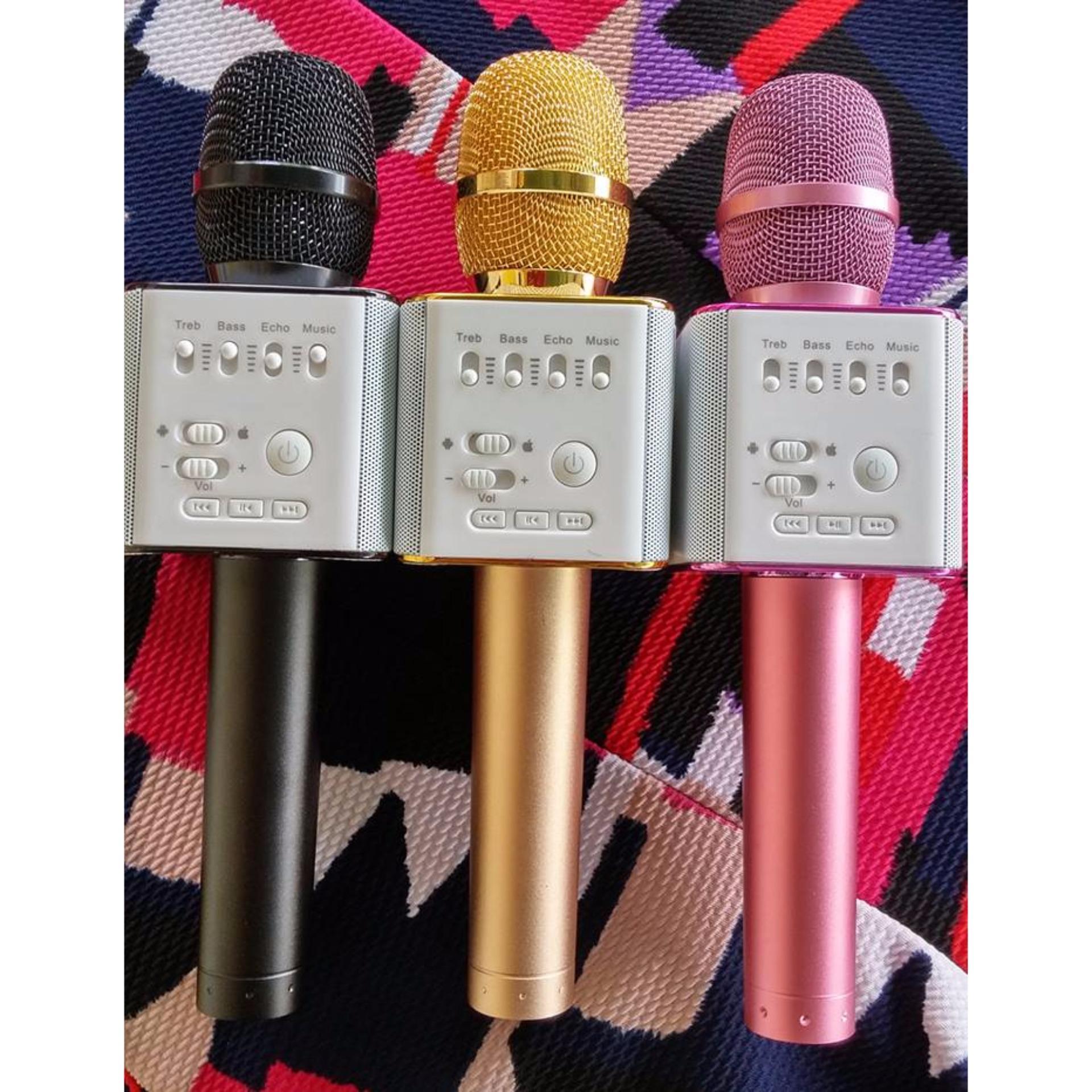 Giá bán Micro karaoke bluetooth Micgeek Q9 ( Màu đen, màu gold)