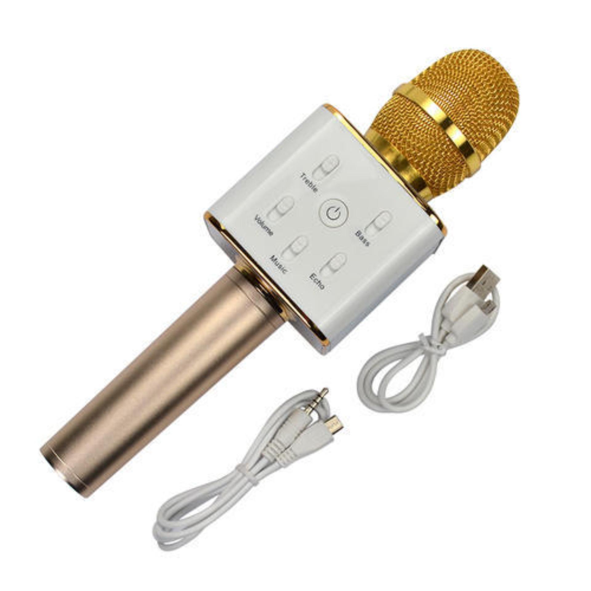 Giá Khuyến Mại Micro Karaoke Bluetooth Q7