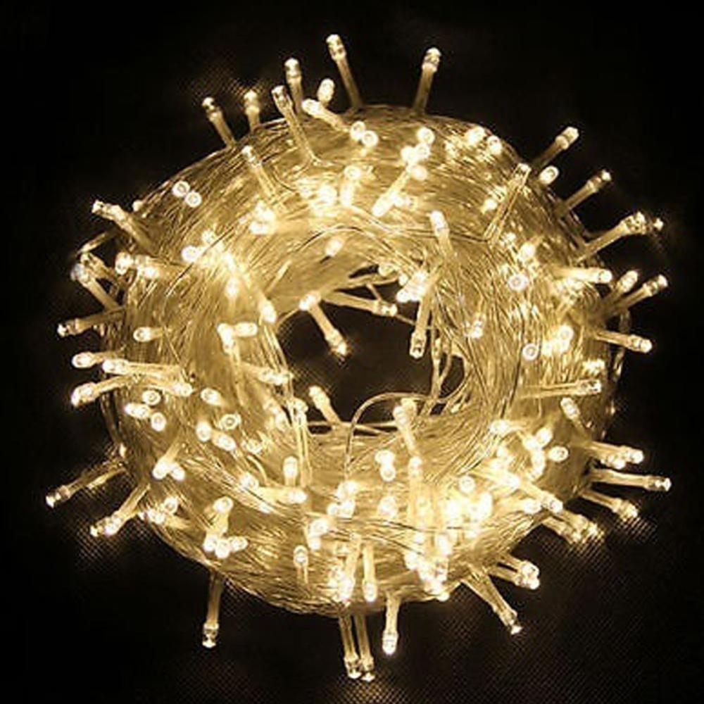 Moonar 40 LED Dùng Pin Giáng Sinh Cưới Trang Trí Tiệc Ngoài Trời Cổ Tích LED Dây Ánh Sáng Đèn (Trắng Ấm) -quốc tế
