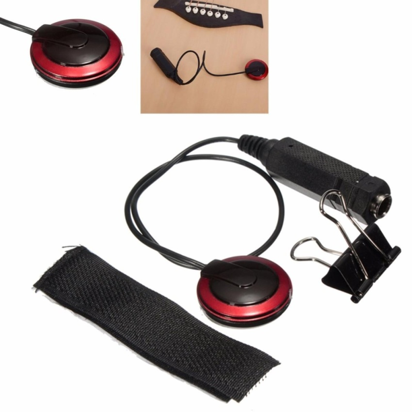 Acoustic Guitar Violin Mandolin Source · New Piezo Contact Microphone Pickup For Guitar .
